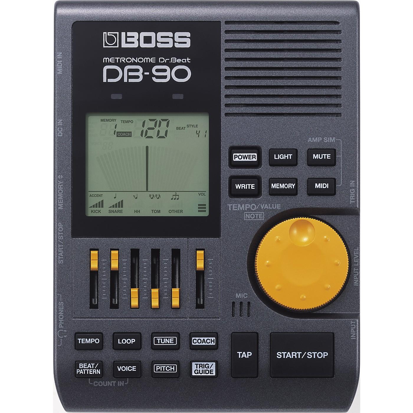 Boss DB-90 Dr. Beat Metronome thumbnail