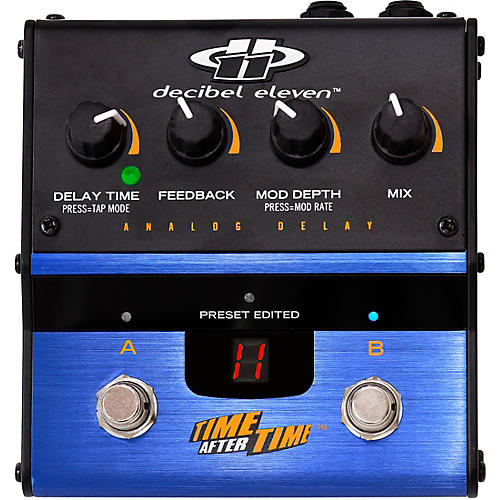 Decibel Eleven DB11-TAT Time after Time Analog Delay Effects Pedal thumbnail