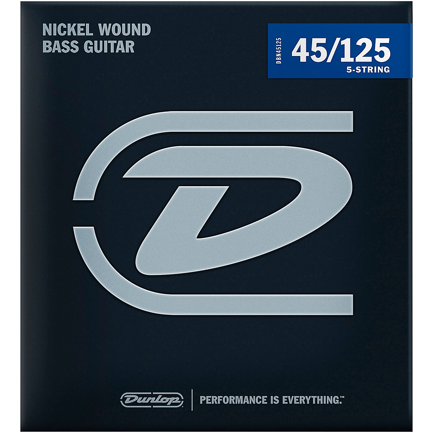 Dunlop DBN45125XL Bass-NKL 45/125 Extra-Long Scale 5-String Set thumbnail