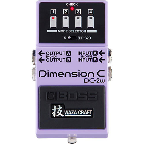 Boss DC-2W Dimension C Waza Craft Guitar Effects Pedal thumbnail