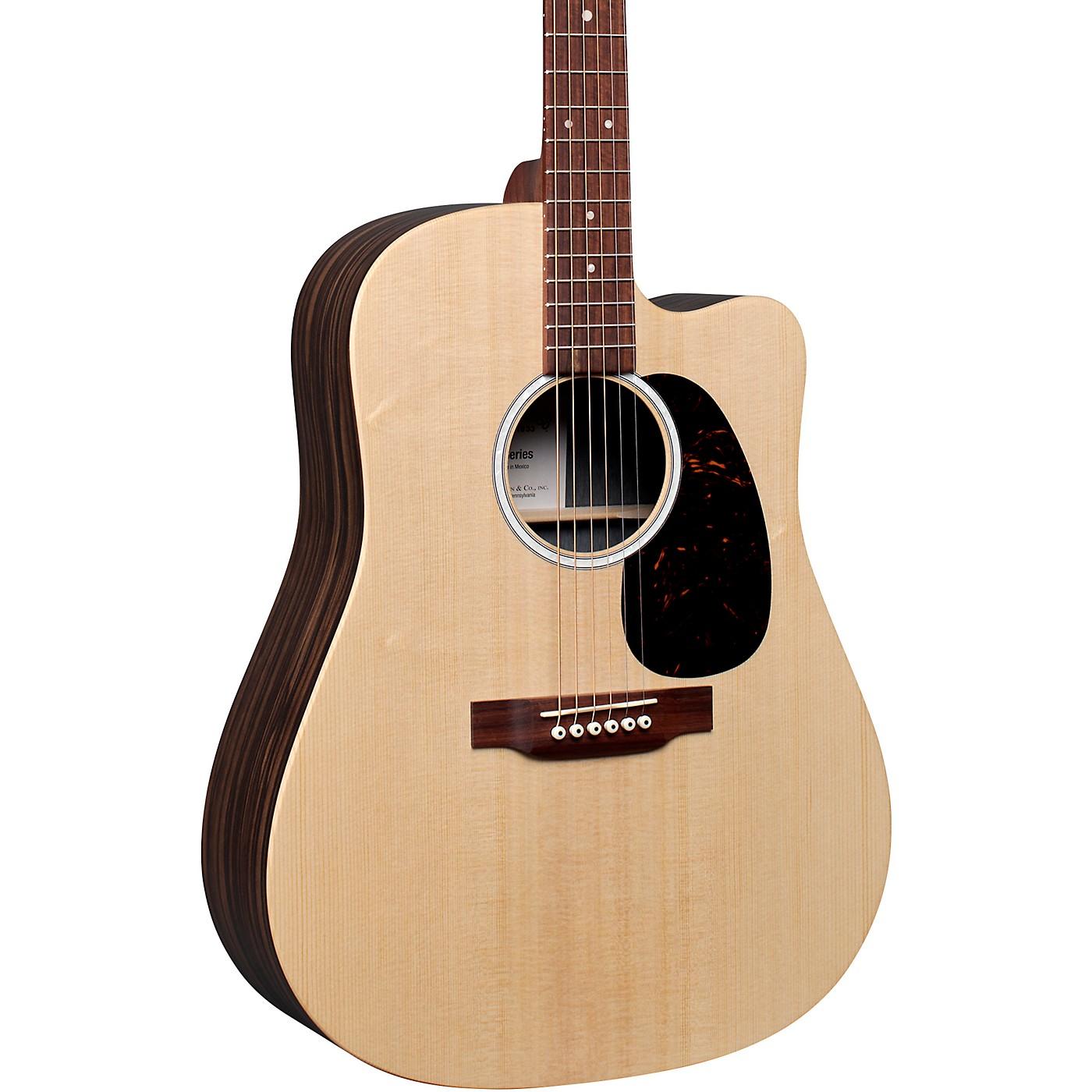 Martin DC-X2E Macassar Ebony Dreadnought Acoustic-Electric Guitar thumbnail