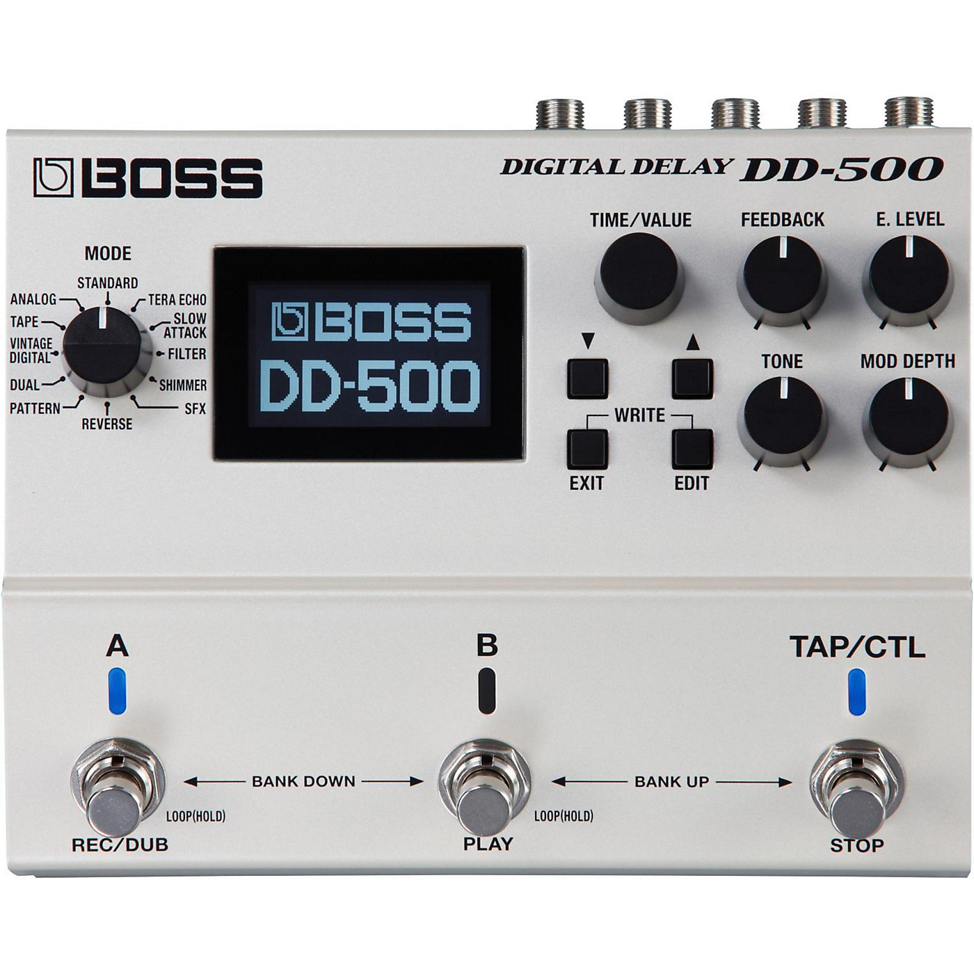 Boss DD-500 Digital Delay Guitar Effects Pedal thumbnail