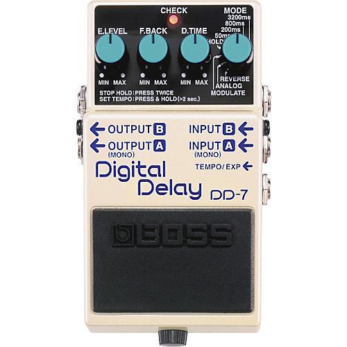 Boss DD-7 Digital Delay Guitar Effects Pedal thumbnail