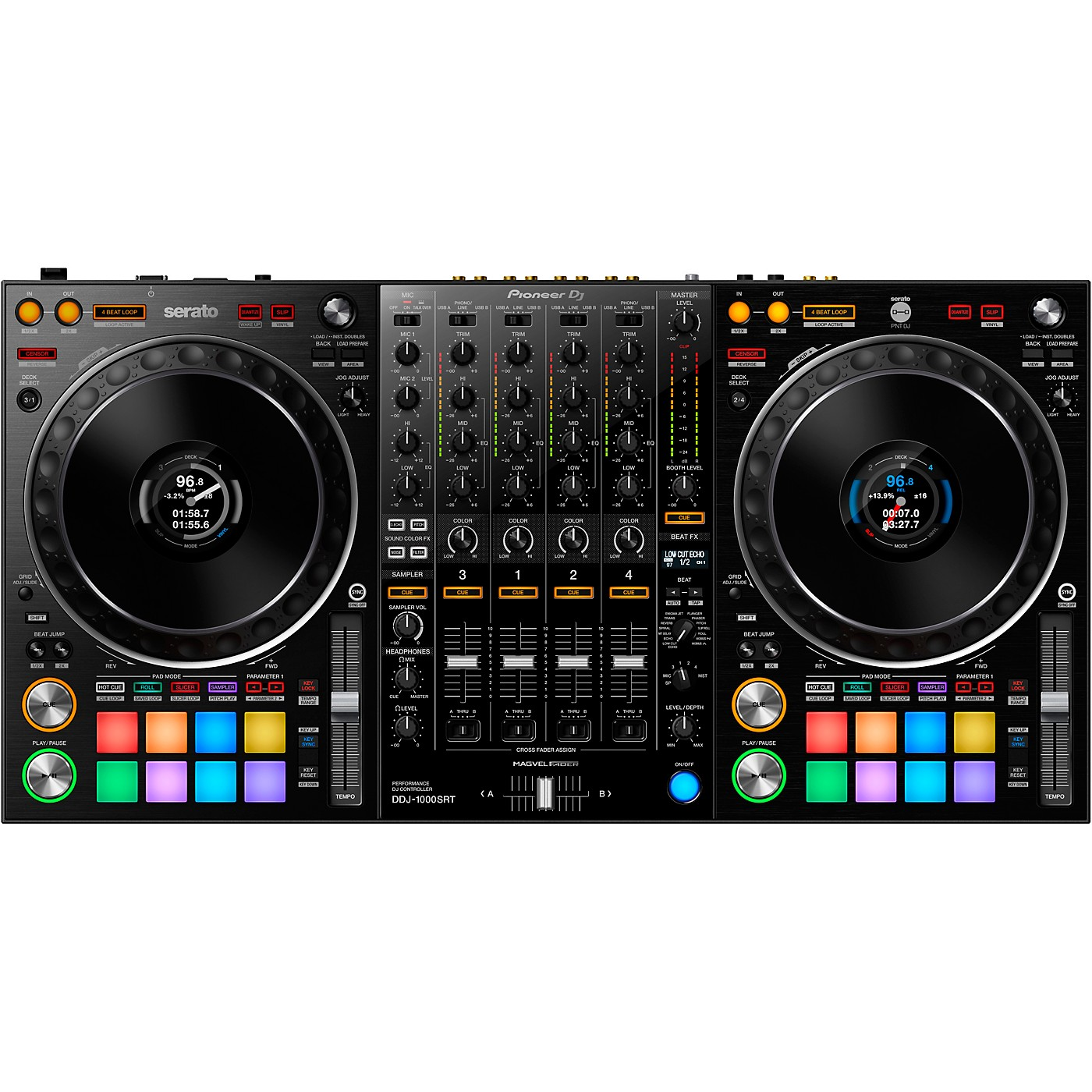 Pioneer DDJ-1000SRT Controller for Serato DJ Pro thumbnail