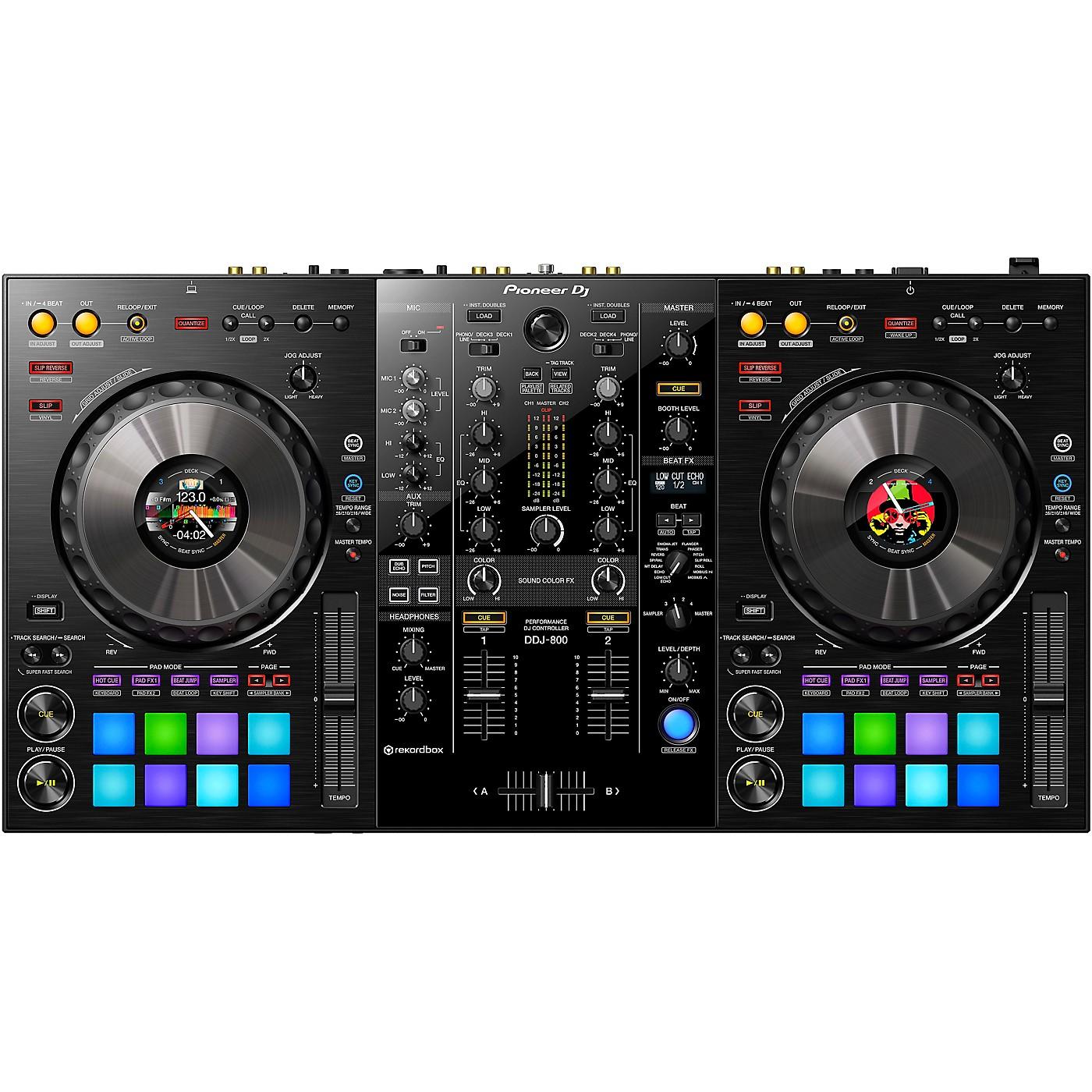 Pioneer DJ DDJ-800 2-Channel Controller for rekordbox dj thumbnail