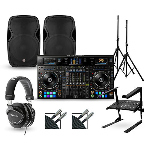 Pioneer DDJ-RZX with Harbinger V1015 DJ Package thumbnail