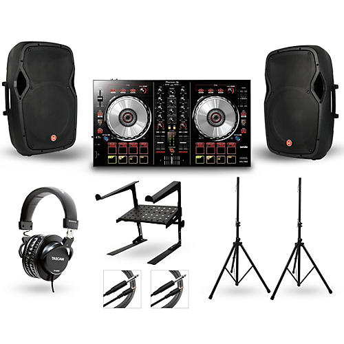 Pioneer DDJ-SB2 with Harbinger V1015 DJ Package thumbnail