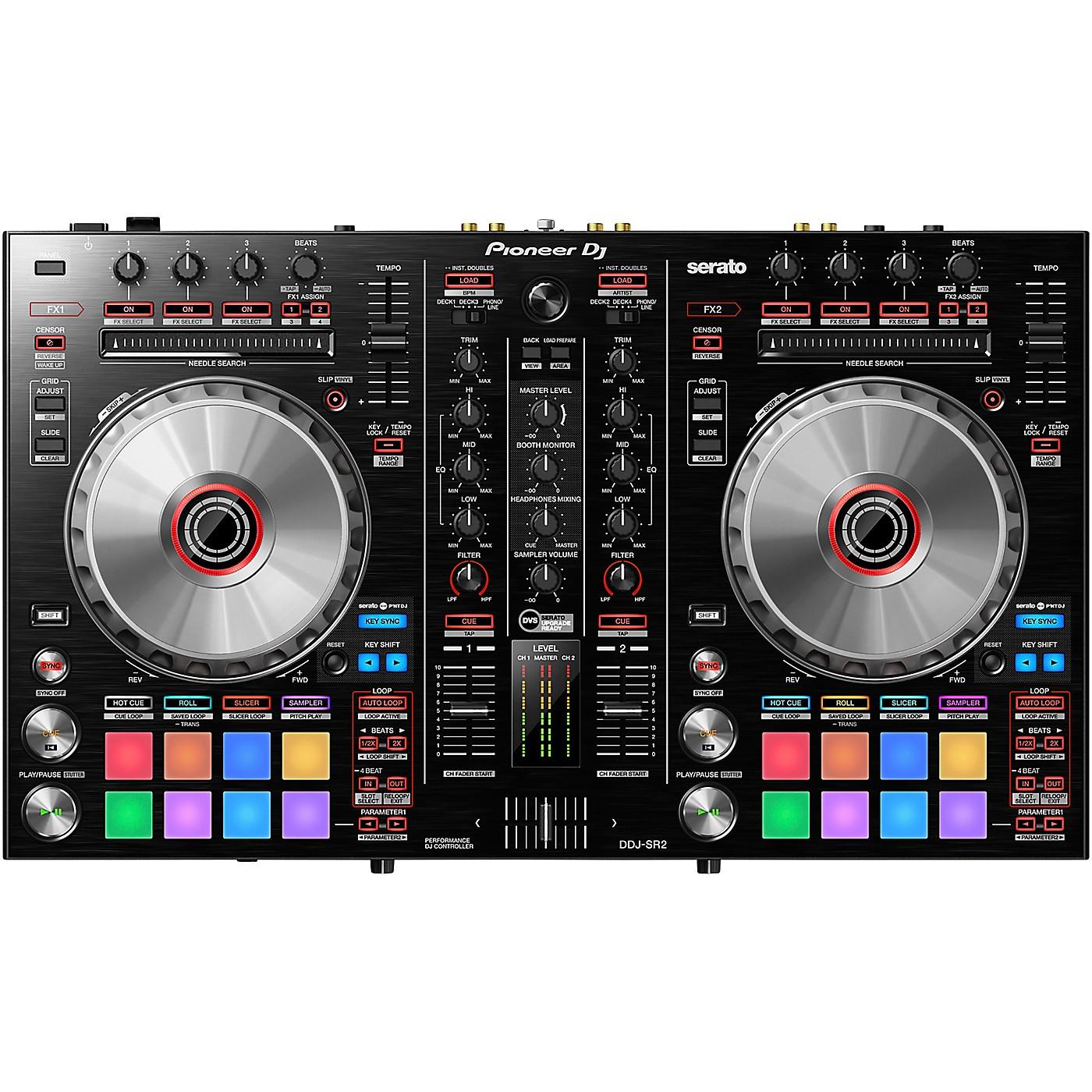 Pioneer DJ DDJ-SR2 2-channel Serato DJ Controller thumbnail