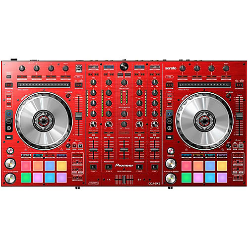 Pioneer DDJ-SX2 Limited Edition Red DJ Controller thumbnail