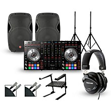 Pioneer DDJ-SX2 with Harbinger V1015 DJ Package