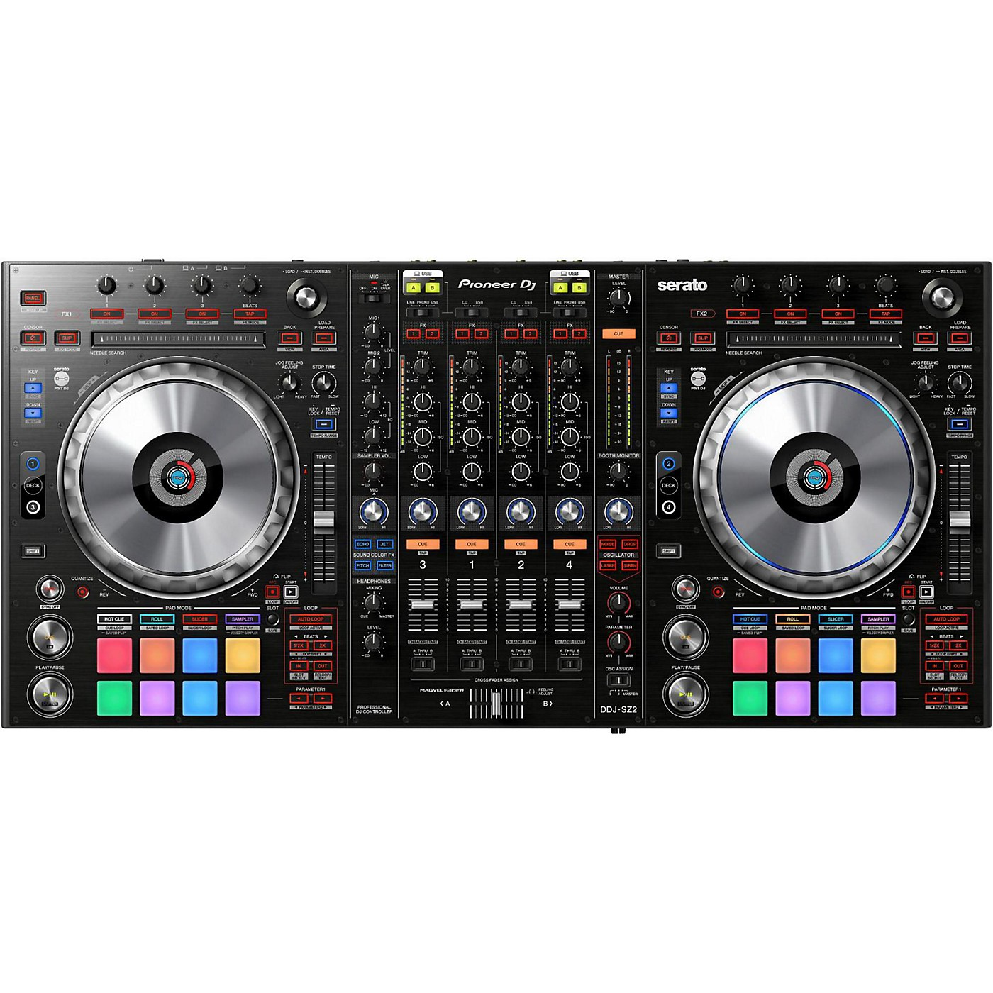 Pioneer DDJ-SZ2 Professional DJ Controller with Serato DJ thumbnail
