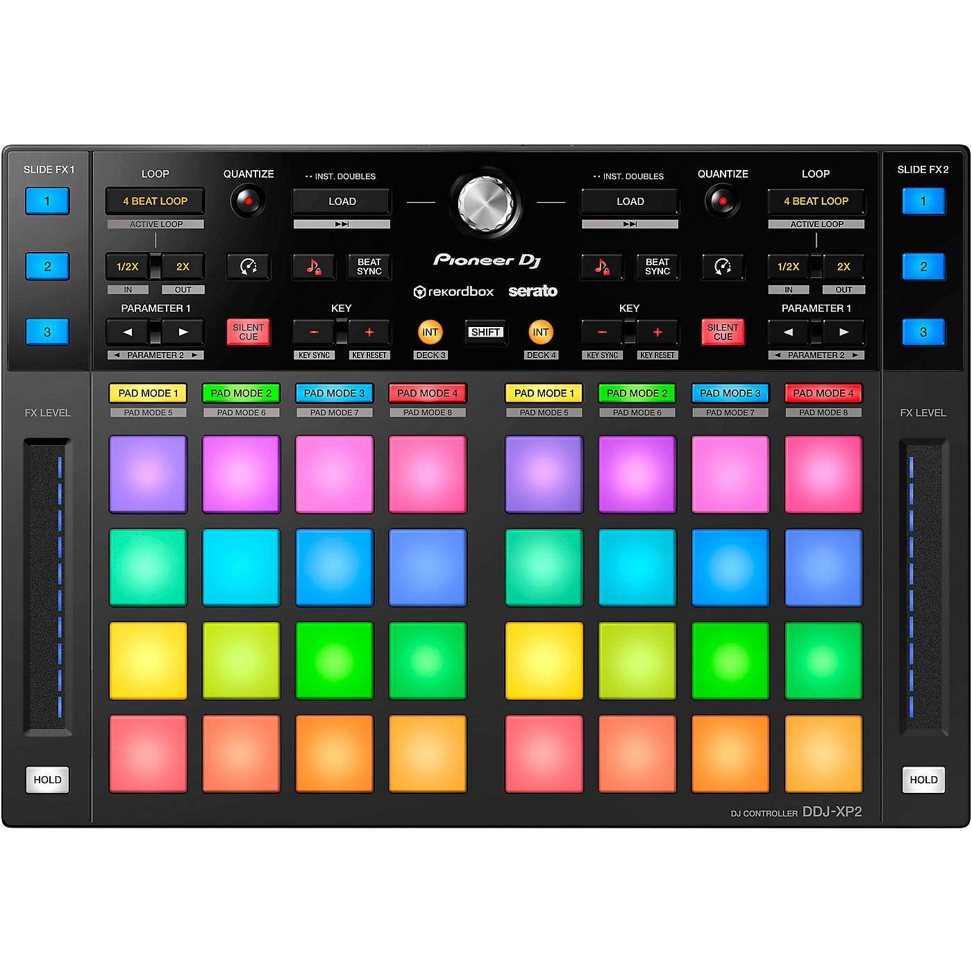 Pioneer DJ DDJ-XP2 DJ Controller for rekordbox dj and Serato DJ Pro thumbnail