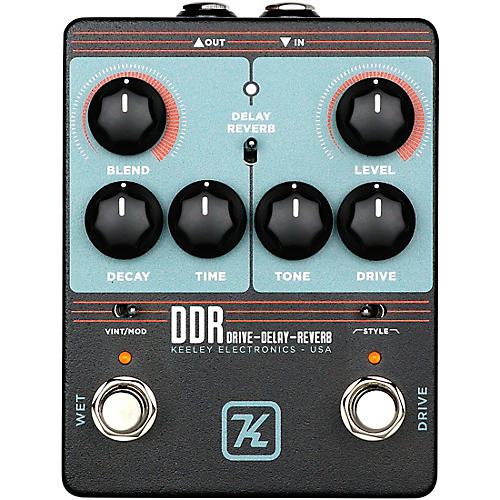 Keeley DDR Drive-Delay-Reverb Effects Pedal thumbnail