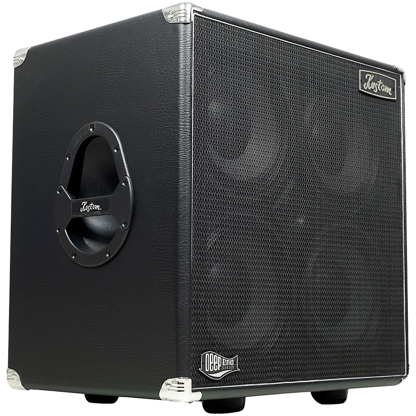 Kustom DE410H 400W 4x10 Bass Speaker Cabinet thumbnail