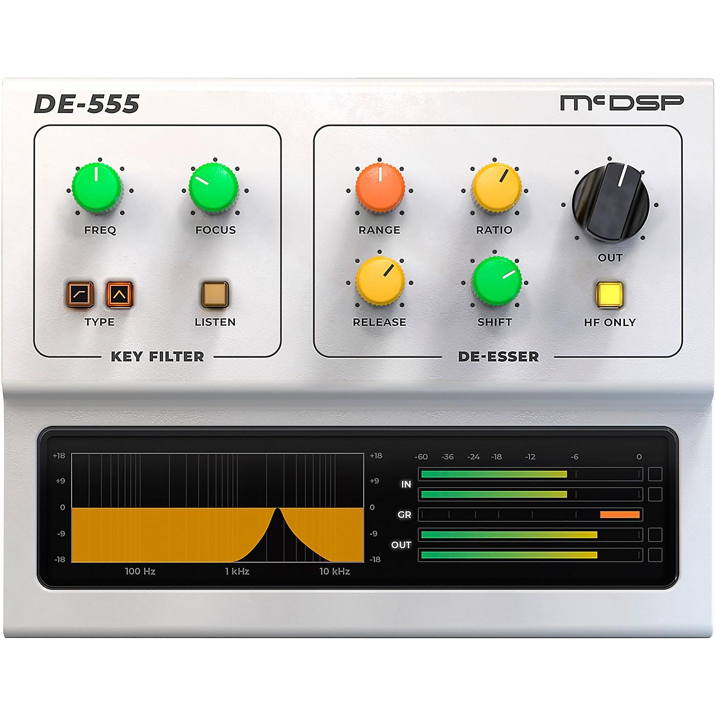 McDSP DE555 De-esser HD v6 Software Download thumbnail