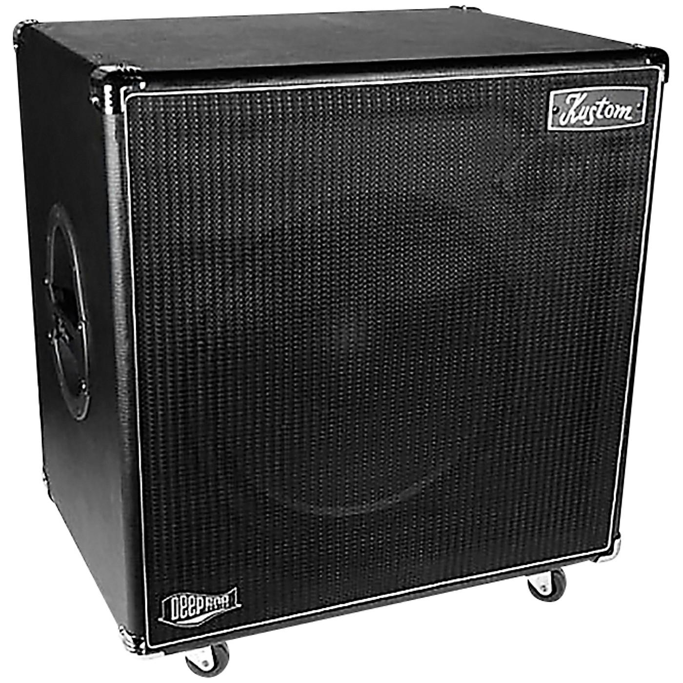 Kustom DEEP115 700W 1x15 Bass Speaker Cabinet thumbnail