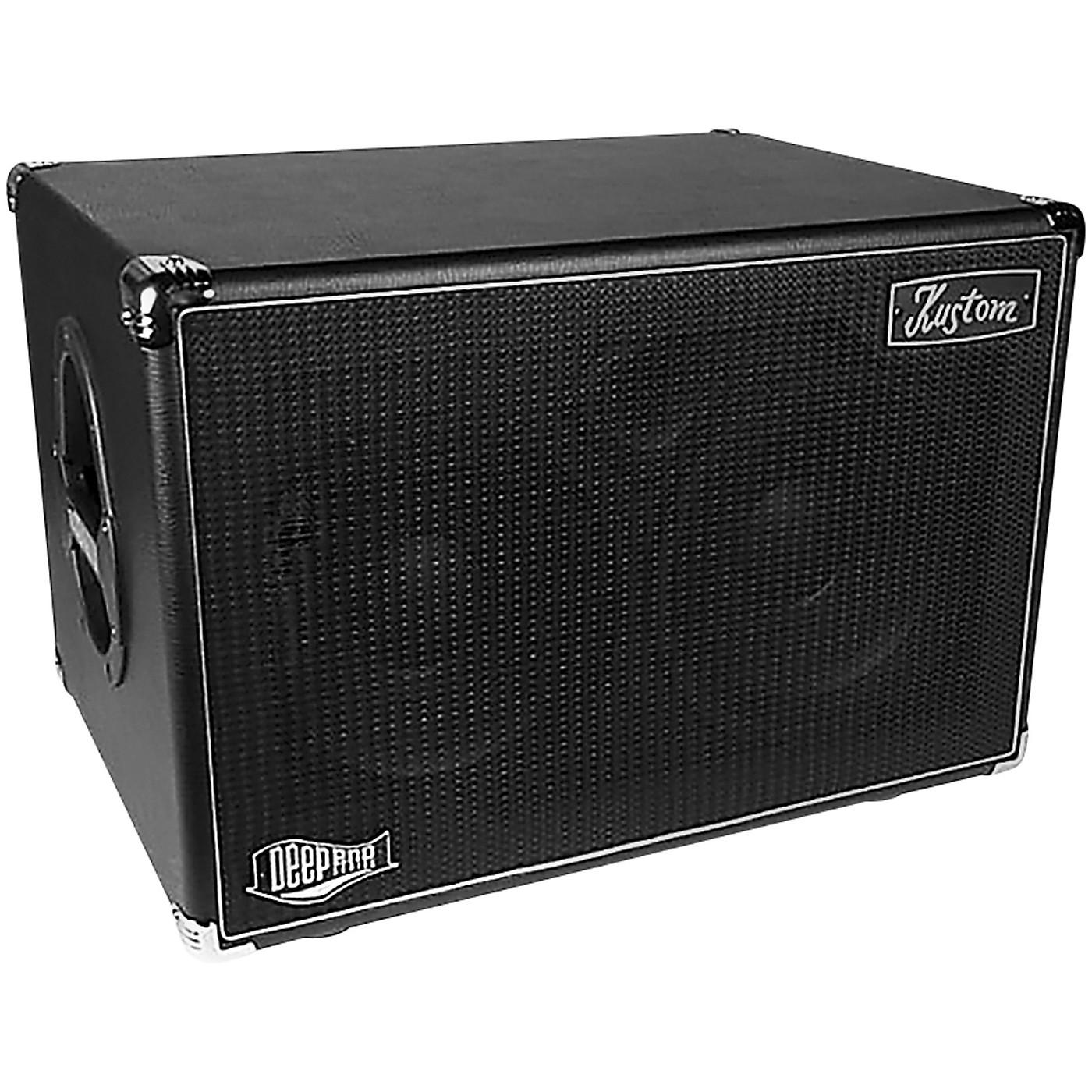 Kustom DEEP210 1,000W 2x10 Bass Speaker Cabinet thumbnail