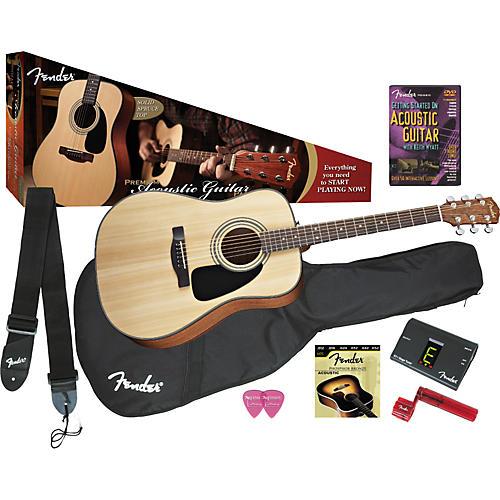Fender DG-8S Acoustic Guitar Value Pack thumbnail