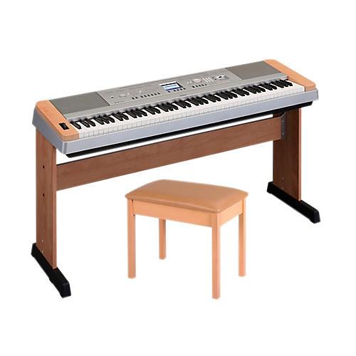 Yamaha DGX-640 88-Key Digital Piano with WB2 Padded Bench thumbnail