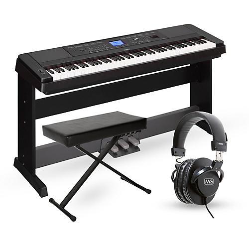 Yamaha DGX-660 88-Key Portable Grand Piano Package thumbnail