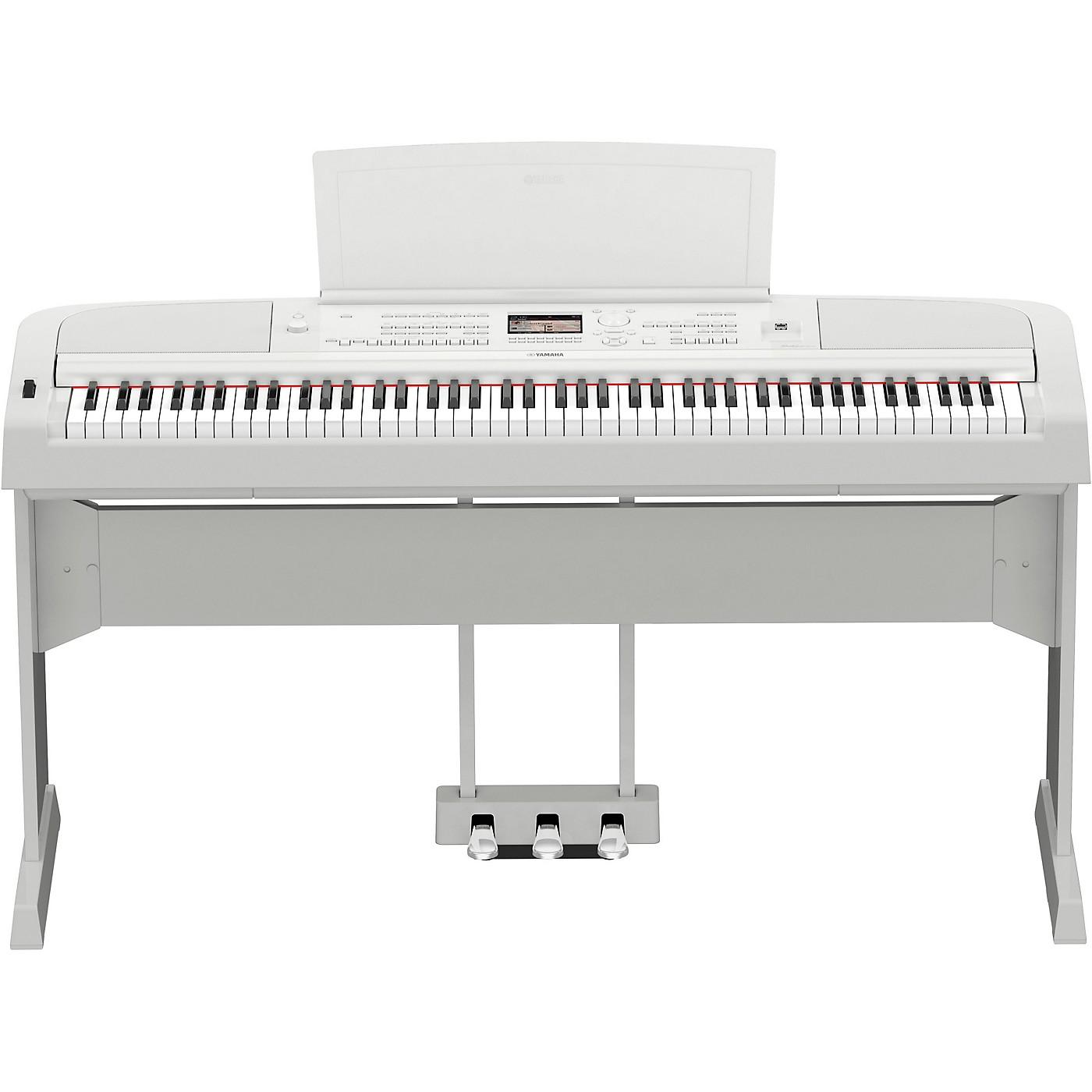 Yamaha DGX-670 Keyboard with Matching Stand and Pedal thumbnail