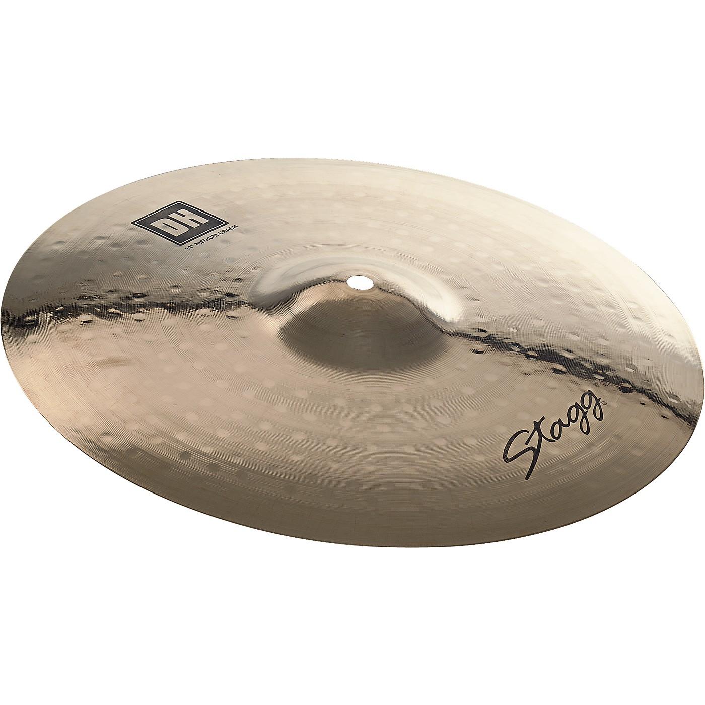 Stagg DH Dual-Hammered Brilliant Medium Crash Cymbal thumbnail