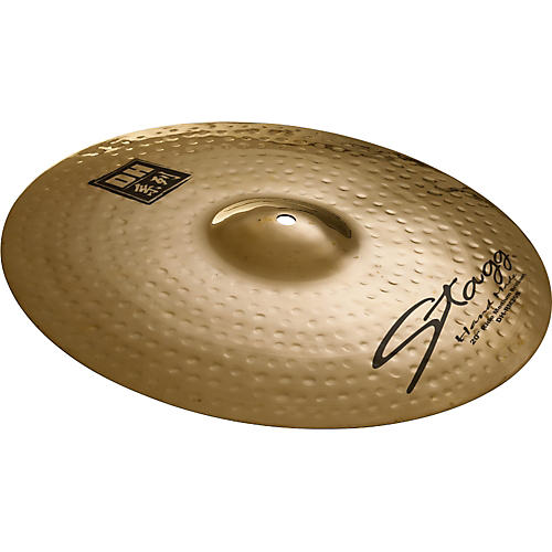 Stagg DH Dual-Hammered Brilliant Medium Ride Cymbal thumbnail