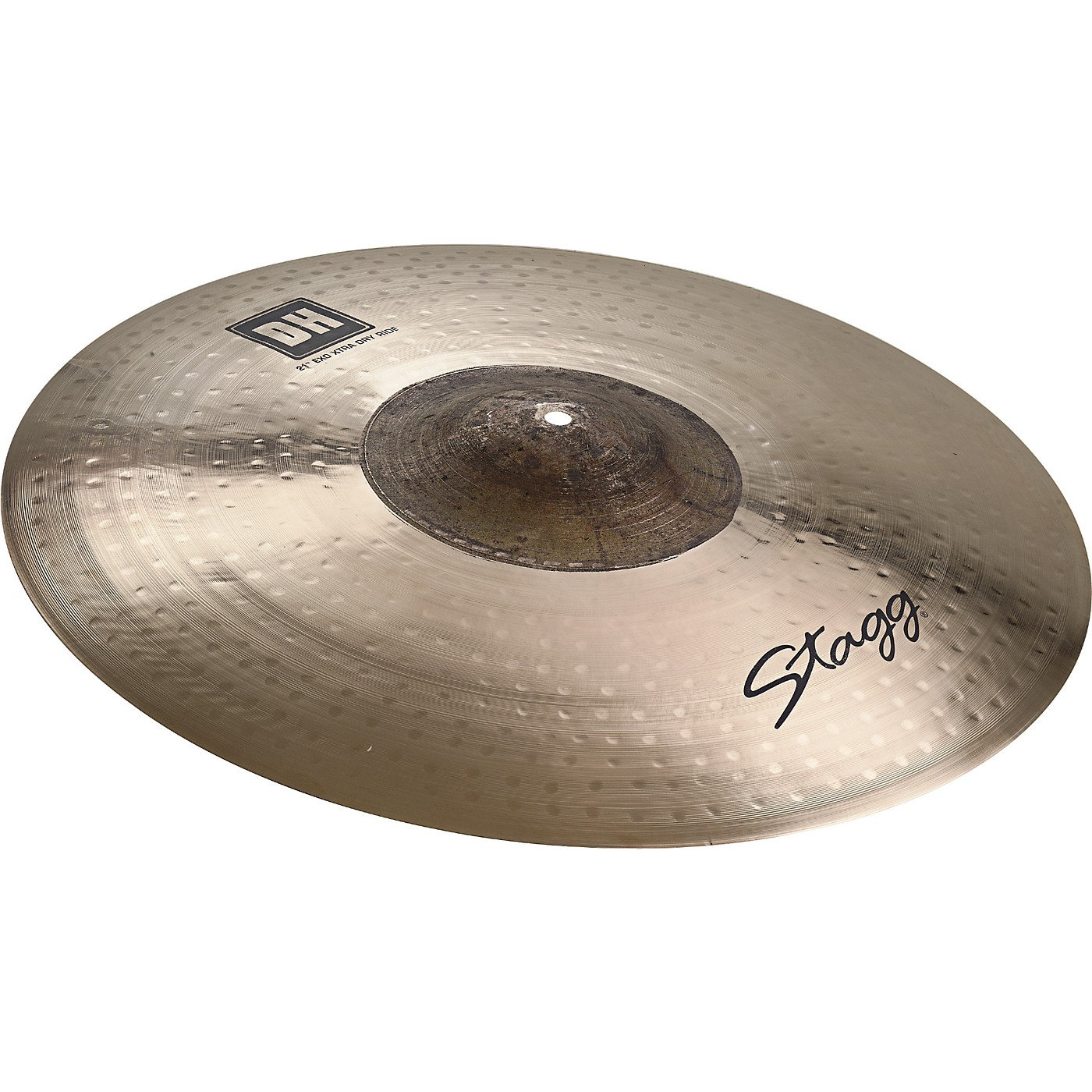 Stagg DH Dual-Hammered Exo Extra Dry Ride Cymbal thumbnail
