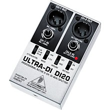 Behringer DI20 Ultra DI 2-Channel Active DI Box/Splitter