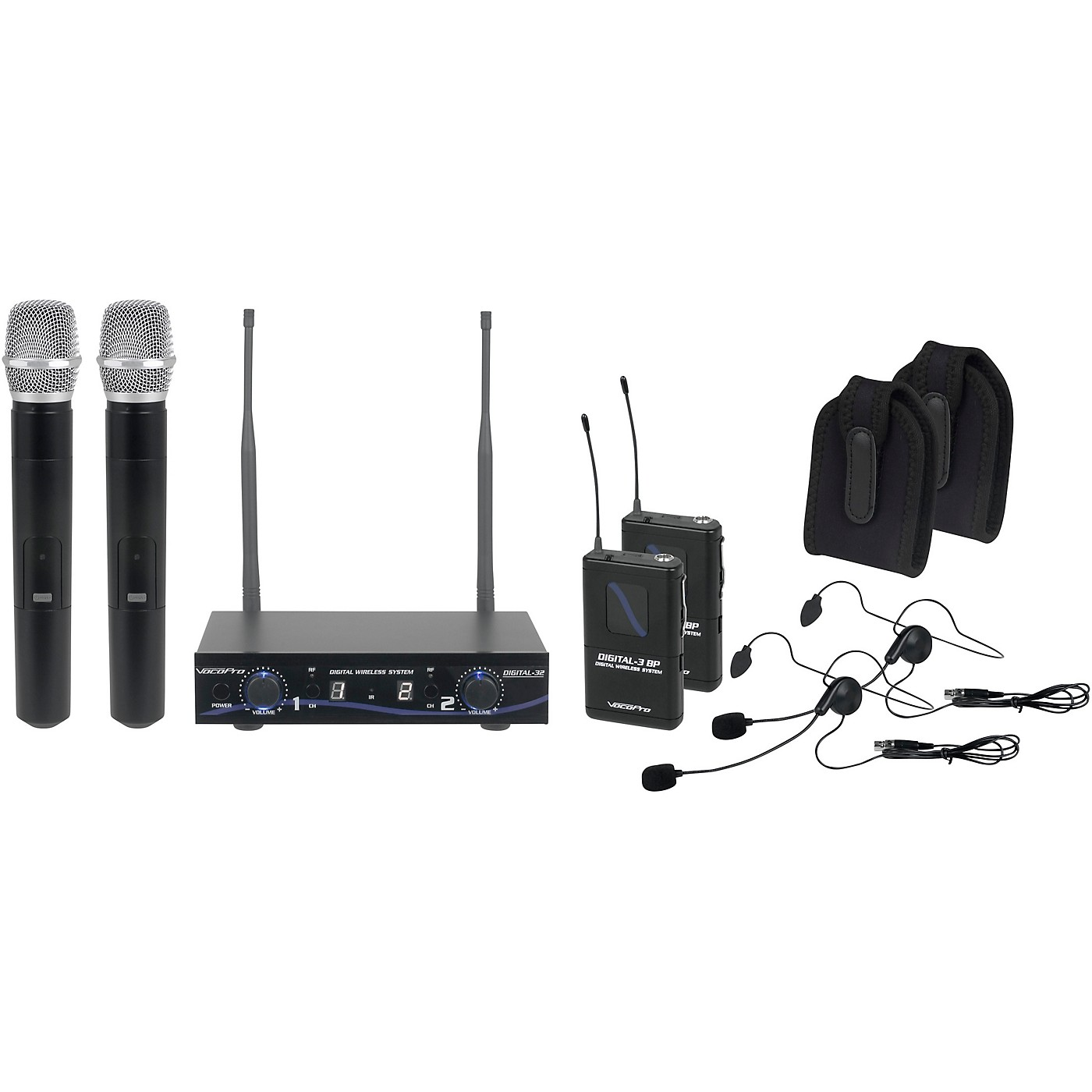 Vocopro DIGITAL-32-ULTRA Wireless System, Dual-Channel thumbnail
