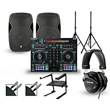 Roland DJ-505 with Harbinger V1015 DJ Package