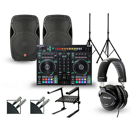Roland DJ-505 with Harbinger V1015 DJ Package thumbnail