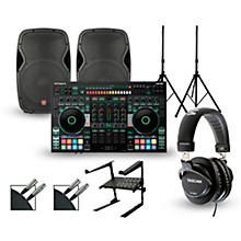 Roland DJ-808 with Harbinger V1015 DJ Package