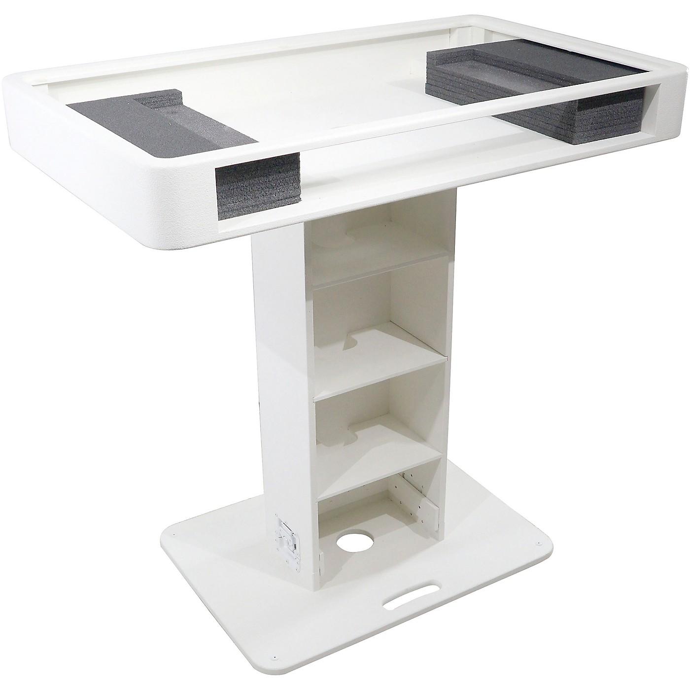 ProX DJ Control Tower in White Fits XDJ-XZ, DDJ-SZ, DDJ-1000, DDJ-SX3 thumbnail