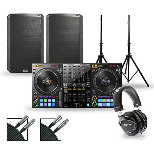 Pioneer DJ Package with DDJ-1000 Controller and Alto TS3 Series Speakers thumbnail