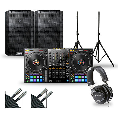 Pioneer DJ Package with DDJ-1000 Controller and Alto TX2 Series Speakers thumbnail