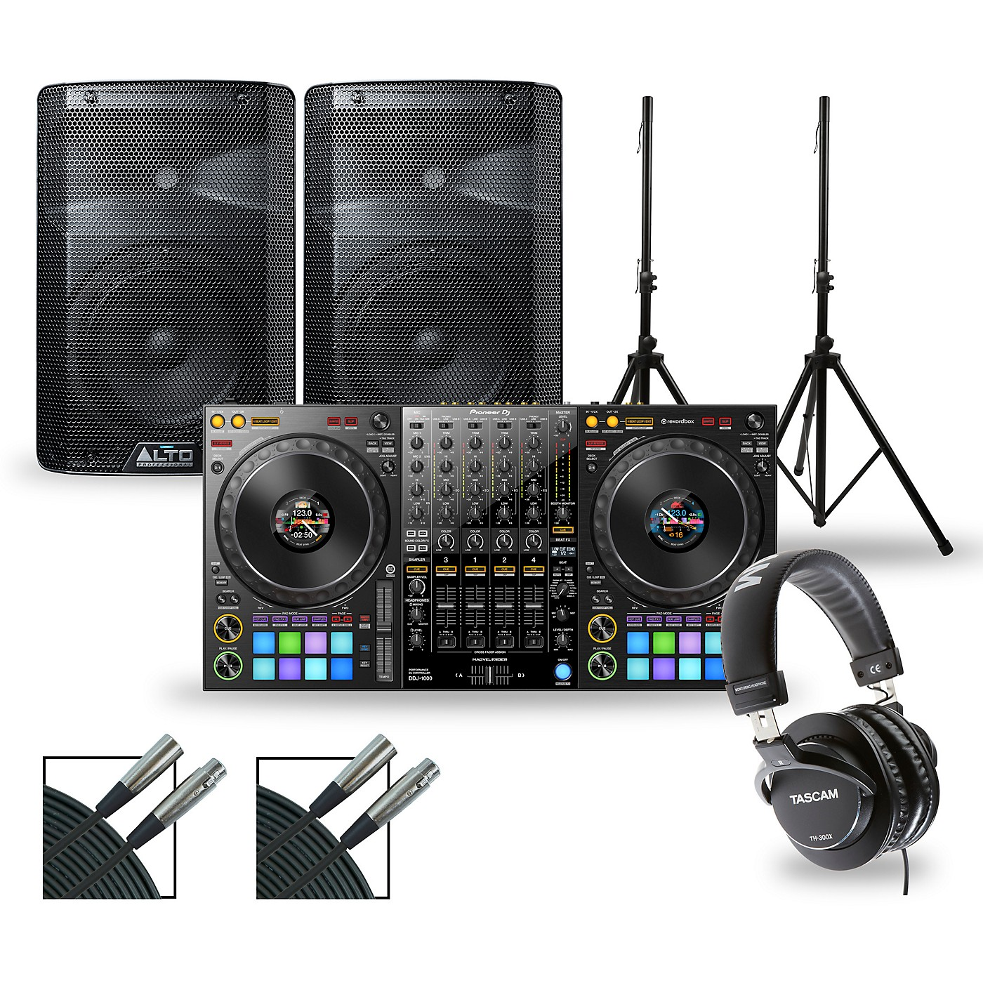 Pioneer DJ DJ Package with DDJ-1000 Controller and Alto TX2 Series Speakers thumbnail