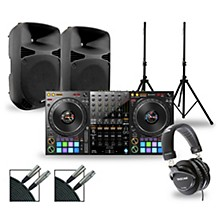 Pioneer DJ Package with DDJ-1000 Controller and Gemini HPS BLU Series Speakers