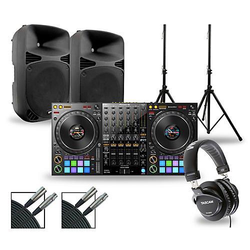 Pioneer DJ Package with DDJ-1000 Controller and Gemini HPS BLU Series Speakers thumbnail