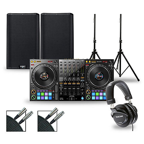 Pioneer DJ Package with DDJ-1000 Controller and QSC K.2 Series Speakers thumbnail