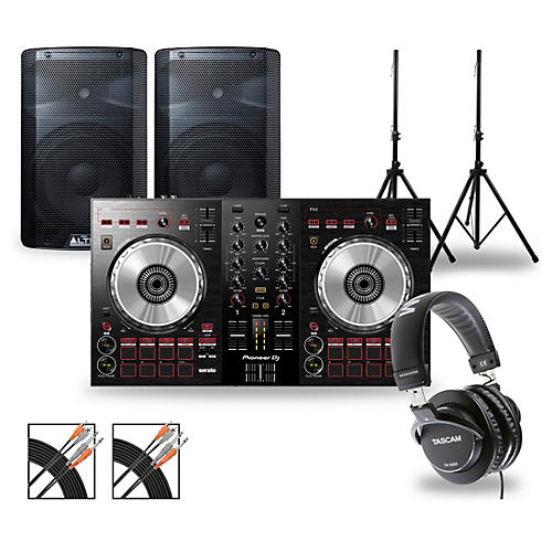 Pioneer DJ Package with DDJ-SB3 Controller and Alto TX2 Series Speakers thumbnail