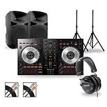 Pioneer DJ Package with DDJ-SB3 Controller and Gemini HPS BLU Series Speakers