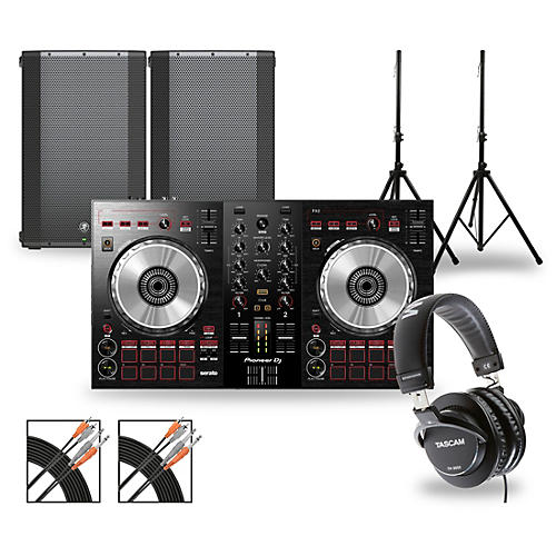 Pioneer DJ Package with DDJ-SB3 Controller and Mackie Thump Series Speakers thumbnail