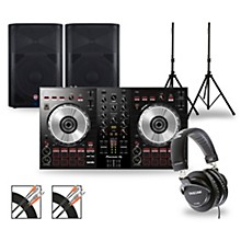 Pioneer DJ Package with DDJ-SB3 Controller and VaRi V2200 Series Speakers