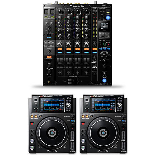 Pioneer DJ Package with DJM-900NXS2 Mixer and XDJ-1000MKII Media Players thumbnail
