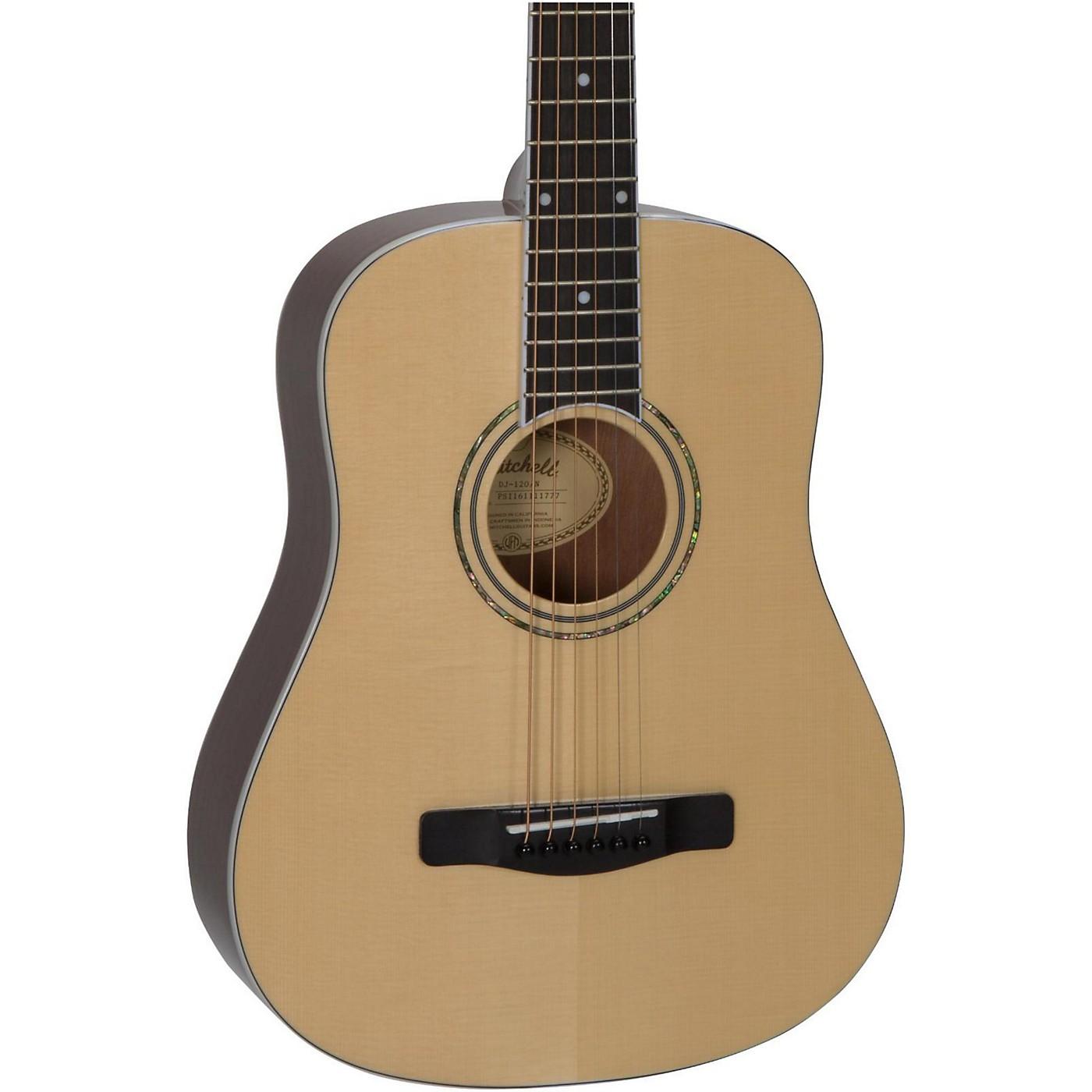 Mitchell DJ120 Junior Dreadnought Acoustic Guitar thumbnail