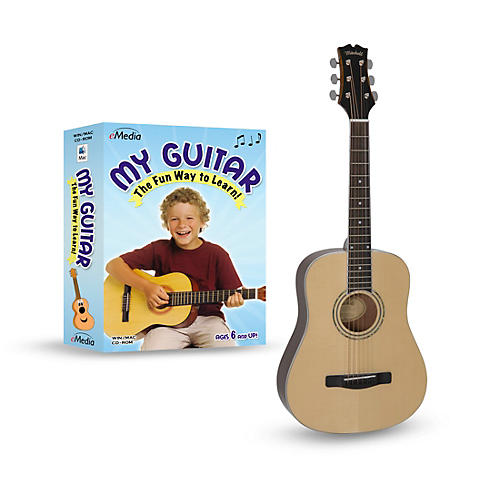 Mitchell DJ120 Learn-To-Play 3/4 Size Acoustic Guitar Bundle thumbnail
