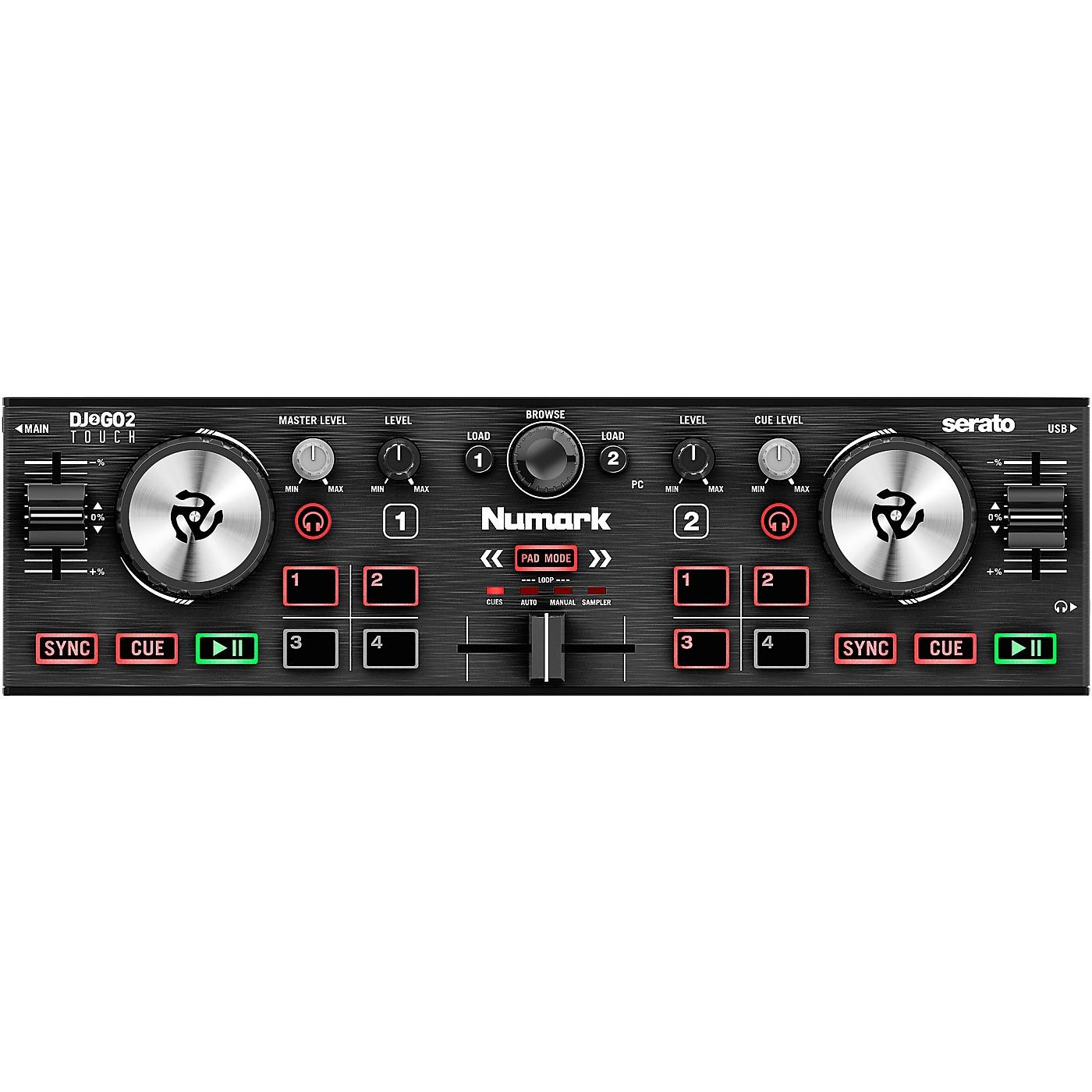 Numark DJ2GO2 Touch Pocket DJ Controller for Serato thumbnail