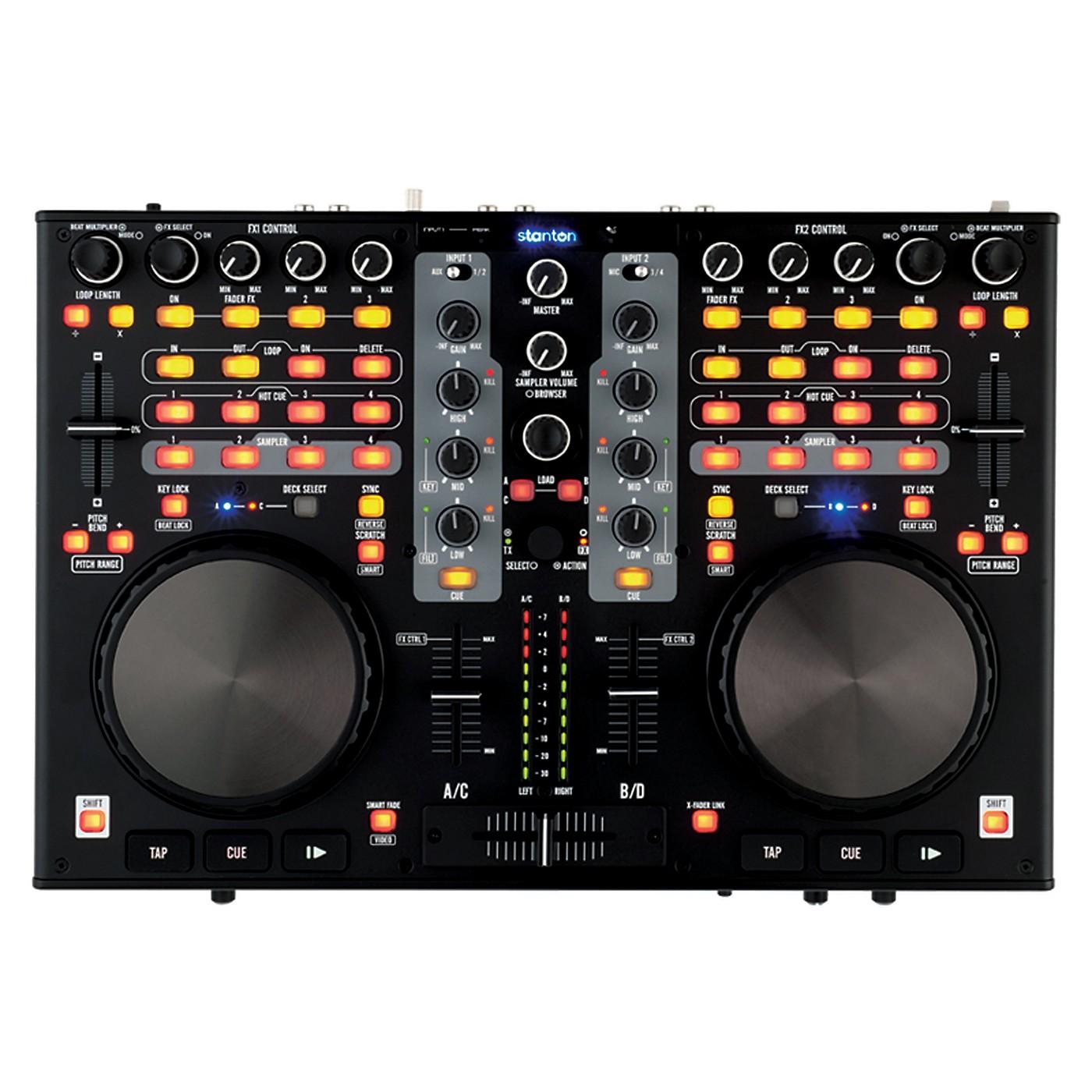 Stanton DJC.4 Virtual DJ Digital Workstation thumbnail