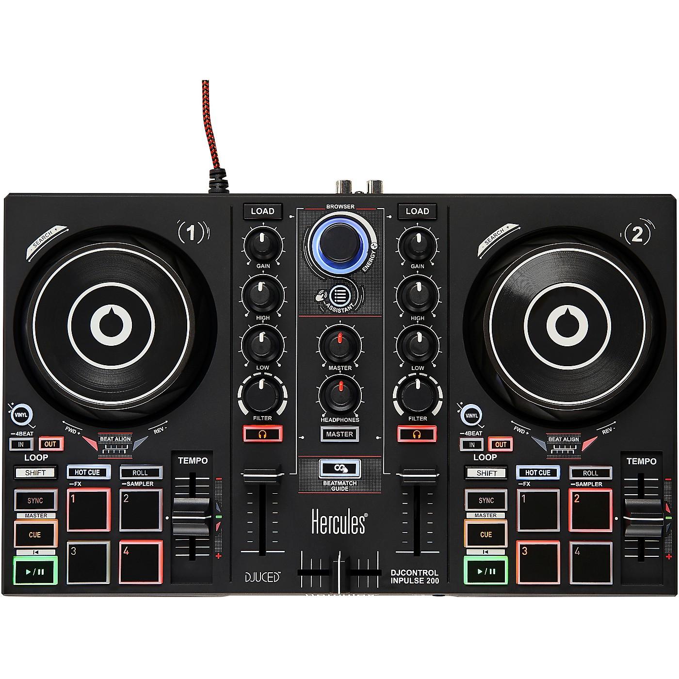 Hercules DJ DJControl Inpulse 200 DJ Controller thumbnail